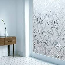 Contact Paper Decorative Designs Amazon OMGShop Waterproof Window Film Frosted Tulip Flower 15