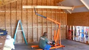 low cost diy drywall lift