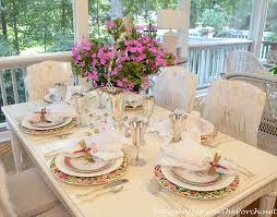 Girl's Birthday Party Table Setting Tablescape