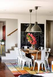 Industrial Chic Dining Room Designs