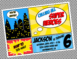 superheroes party invites free superhero invitation templates invitation templates