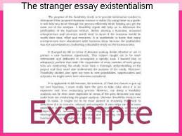 the stranger essay existentialism coursework service the stranger essay existentialism this list of important quotations from the stranger by albert camus