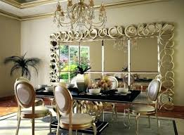 dining room mirrors modern decorative wall mirrors for living room with chandelier contemporary dining room mirror ideas