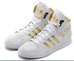adidas shoes gold and white. cheap 2014 new adidas high-top shoes for men white gold on sale,for and