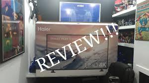 haier 55 4k ultra hd tv. haier 55 in 4k tv review 4k ultra hd )