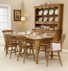 Round Pine Kitchen Table Used Pine Dining Table And Chairs Pine Dining Room Chairs Style