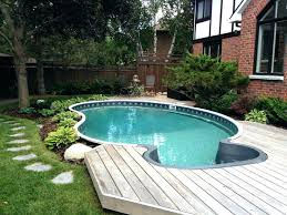 semi inground pool cost. Semi Inground Pool Costs Home Above Ground Enclosure . Cost