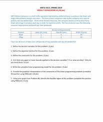 Weekly Homework Solved Mktg 4313 Spring 2019 Weekly Homework 1 30 Pts