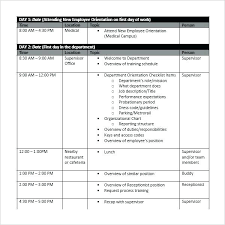 Training Schedule Template Word Flaky Me