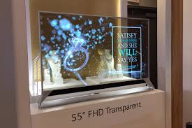 See Thru Tv Lgs Futuristic Screens Are Rollable Transparent And