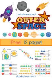 Kindergarten Worksheets - Free Solar System Workbook | Slap Dash Mom
