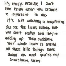 Love Quotes For Him Or Her Snowstorm Wattpad