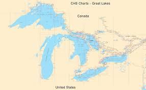 Binnacle Com Canadian Charts Great Lakes Chs Canadian