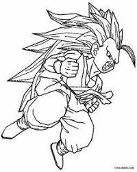 Small Picture Printable Goku Coloring Pages For Kids Cool2bKids Cartoon