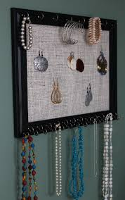 Jewelry Wall Organizer 25 Best Ideas About Homemade Jewelry Holder On Pinterest