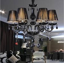 modern black crystal chandeliers lighting lampshades antique brass chandeliers res de sala moderno dining room chandlier lights flower chandelier copper