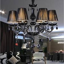 modern black crystal chandeliers lighting lampshades antique brass chandeliers res de sala moderno dining room chandlier lights flower chandelier copper