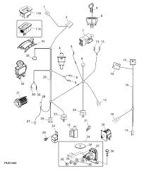 john deere l130 wiring diagram the engine compartment away from heat sources or on the panel