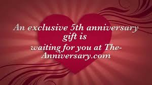 5th anniversary gift ideas