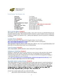 college syllabus template office of student success syllabus information wichita state