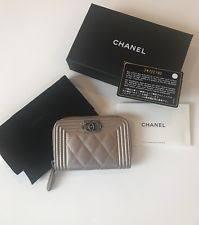 chanel zip coin purse. new chanel boy zip around coin purse gold caviar ruth hardware card holder