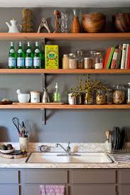 Open Kitchen Shelf 50 Fabulous Shabby Chic Kitchens That Bowl You Over