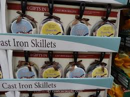 cast iron skillet cookie and brownie set costco 4