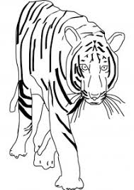 Small Picture Tiger Coloring Pages To Print Good Printable Relaxing Tiger
