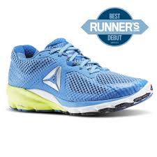 reebok womens running shoes. reebok - harmony road echo blue / awesome fire coral white bd2571 womens running shoes