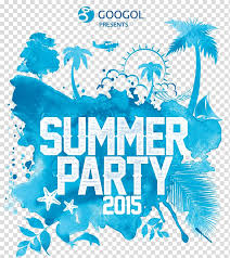 Party Flyer Poster Standard Paper Size Festival Summer