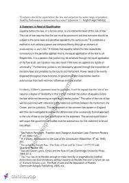essay on equality before the law the rule of law  essay on equality before the law the rule of law