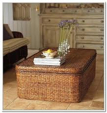 seagrass trunk coffee table marvelous wicker coffee table tables ideas awesome for trunk decorations 2 living