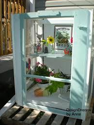 mini greenhouse from old windows via designdreamsbyanne