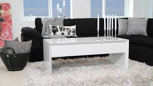 appealing small white gloss coffee table 21 black marble and glass faux furniture