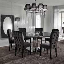 Designer Black Dining Chairs D24 Incredible Round Dining Table And Chairs Modern Design