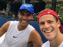 In a game of giants, 5'7 diego schwartzman stands out for his unwillingness to let his shortcomings define his game. Diego Schwartzman On Instagram Rafaelnadal Tennis Legends Tennis Players Rafa Nadal