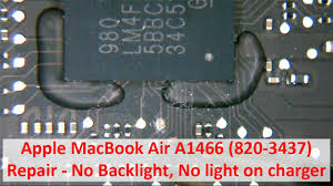 Macbook Pro Charger Not Working No Green Light Apple Macbook Air A1466 820 3437 Repair No Backlight No Light On Charger