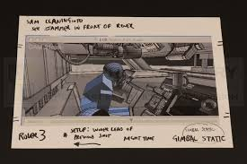 The Prop Gallery | From Script To Screen - Storyboarding The Motion ...