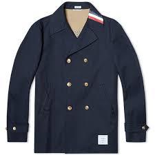 thom browne mackintosh pea coat navy 1