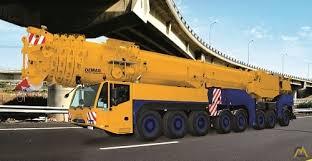 Demag 600 Ton Crane Load Chart Demag Ac 500 8 600 Ton All Terrain Crane For Sale
