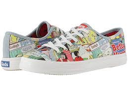 Keds Shoe Width Size Chart Keds X Betty And Veronica Kickstart Comic