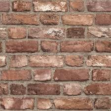 3d effect house brick wallpaper slate