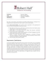 Internal Audit Director Resume Internal Audit Manager Job