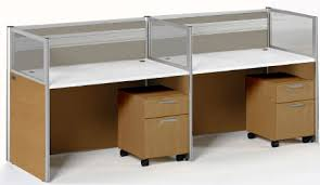 ... 2-Person Bench Workstation  Sync Custom Cubicles - 43 ...