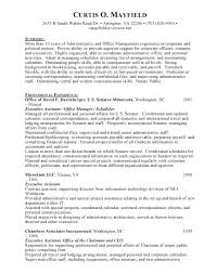 Administrative Assistant Skills Resume Resume Template For Executive Assistant Callatishigh Info