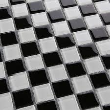 black glass mosaic tile backsplash bathroom wall tiles 3030 white p805 jpg