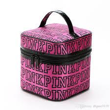 vs pink cosmetic bag vitoria sacos love women zipper light women s makeup bag vs las bag womens summer big cosmetic box organic skin care beauty case