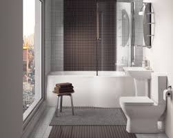modern bathroom shower. Fine Bathroom Bathroom Suite With Shower Bath  Synergy Regent Modern Configurable Throughout