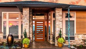 contemporary exterior doors