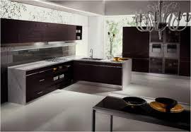 Best Modern Kitchen Design Kitchen Fancy Black Kitchen Appliance And Cabinet Also Honed
